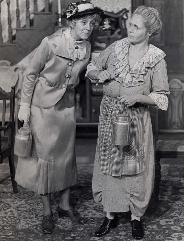 Sue, 19, as Martha in Arsenic and Old Lace