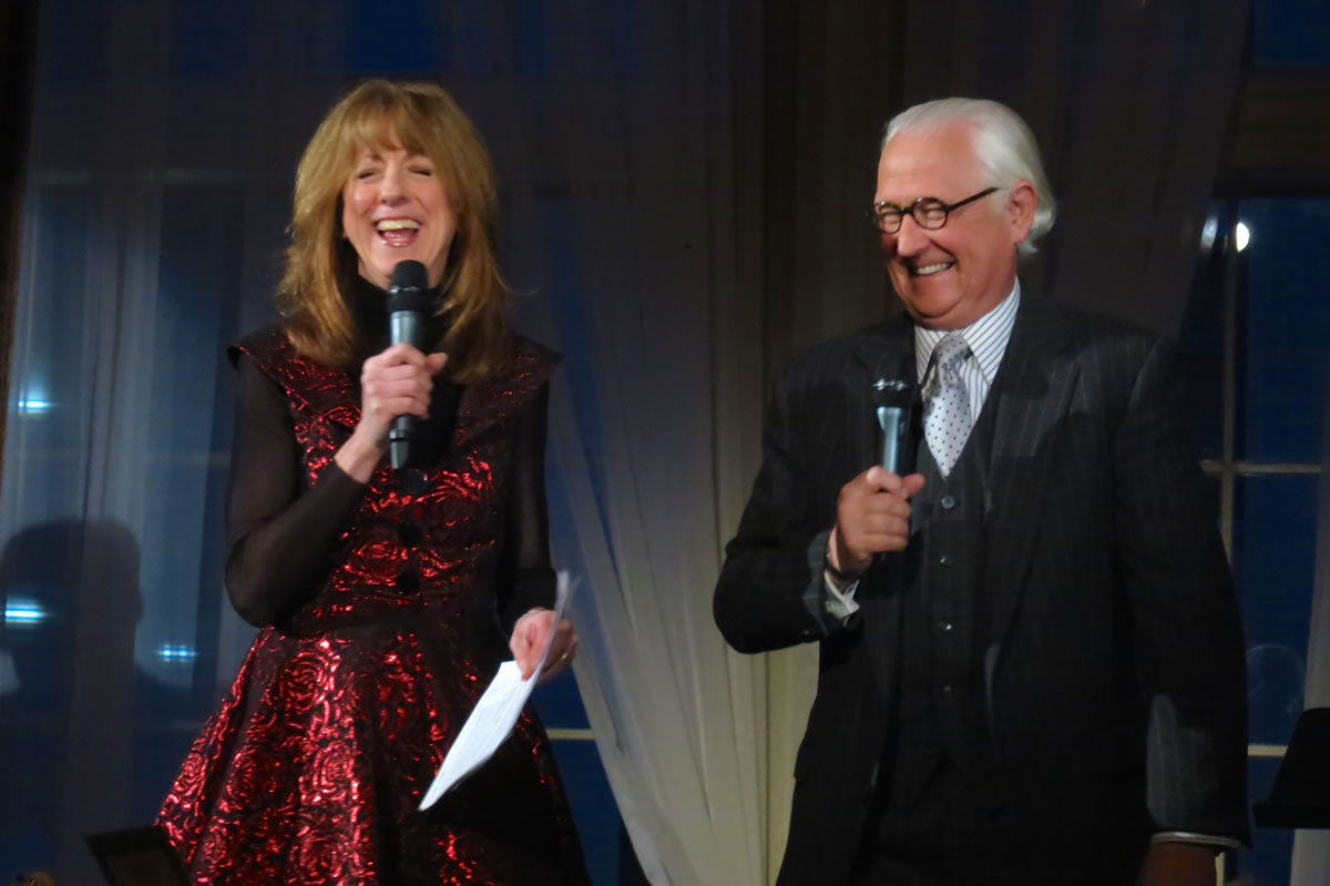 With Don Shelby - History Theatre Gala 2014 | Sue Scott voice over, emcee, A Prairie Home Companion