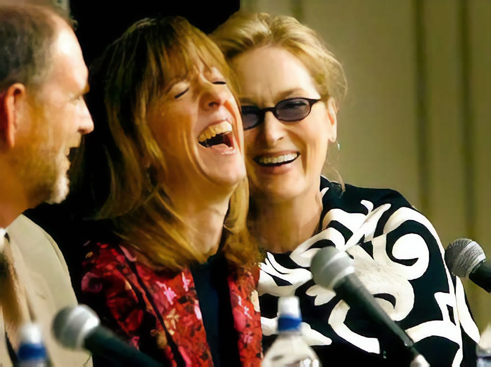 A Prairie Home Companion Movie Press Conference with Sue Scott and Meryl Streep